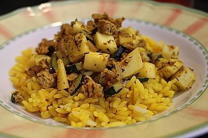 Indisches Curry-Mango-Tofu