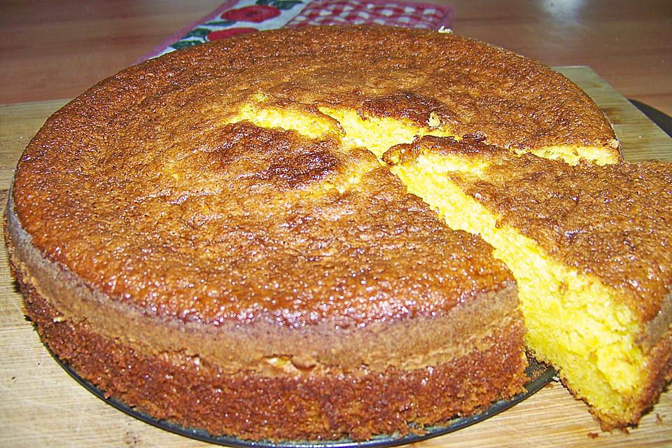 Orangenkuchen mit schale rezept mit bild von monijack for Edelstahlsaule mit schale