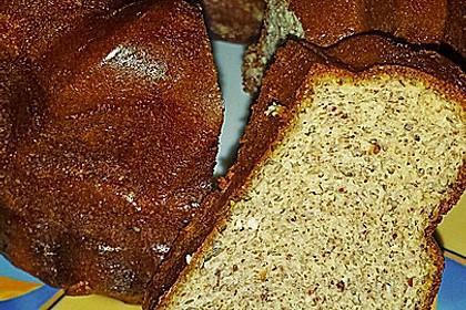 Bananenbrot ohne Mehl und Zucker 5