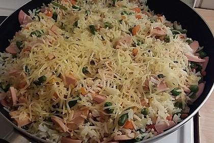 Curry-Reispfanne