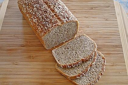 Amaranth-Hirse-Dinkel-Brot