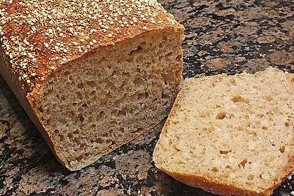 Amaranth-Hirse-Dinkel-Brot 6