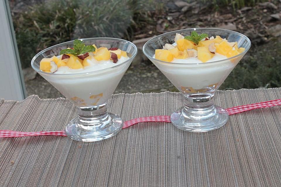 mango joghurt dessert rezept mit bild von bennowitsch. Black Bedroom Furniture Sets. Home Design Ideas