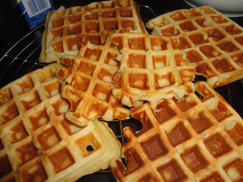 Omas Waffeln Rezepte Original belgische bzw brüsseler waffeln das ultimative rezept
