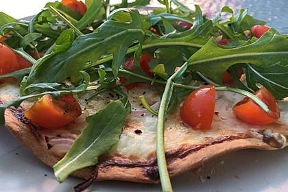 Flammkuchen mit Tortilla-Wrap 18