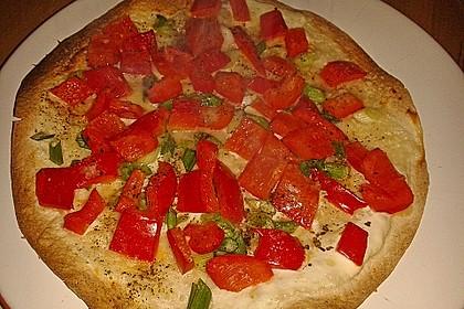 Flammkuchen mit Tortilla-Wrap 30