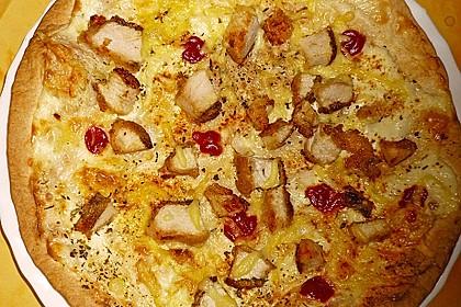 Flammkuchen mit Tortilla-Wrap 48