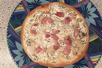 Flammkuchen mit Tortilla-Wrap 26