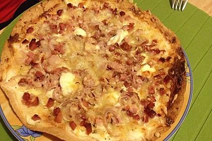 Flammkuchen mit Tortilla-Wrap 42