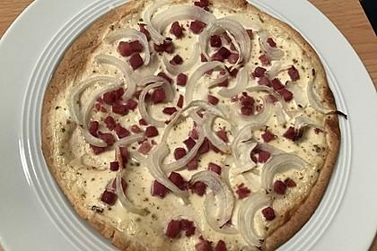 Flammkuchen mit Tortilla-Wrap 21