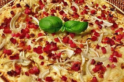Flammkuchen mit Tortilla-Wrap 28