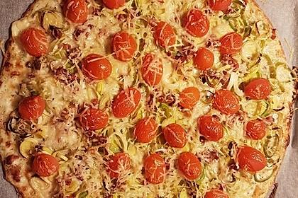 Flammkuchen mit Tortilla-Wrap 24