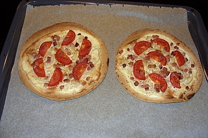 Flammkuchen mit Tortilla-Wrap 40