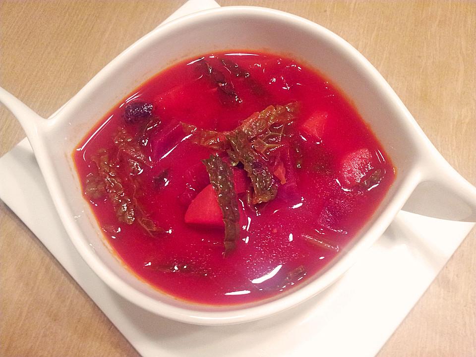 rote bete suppe rezept mit bild von psst77. Black Bedroom Furniture Sets. Home Design Ideas