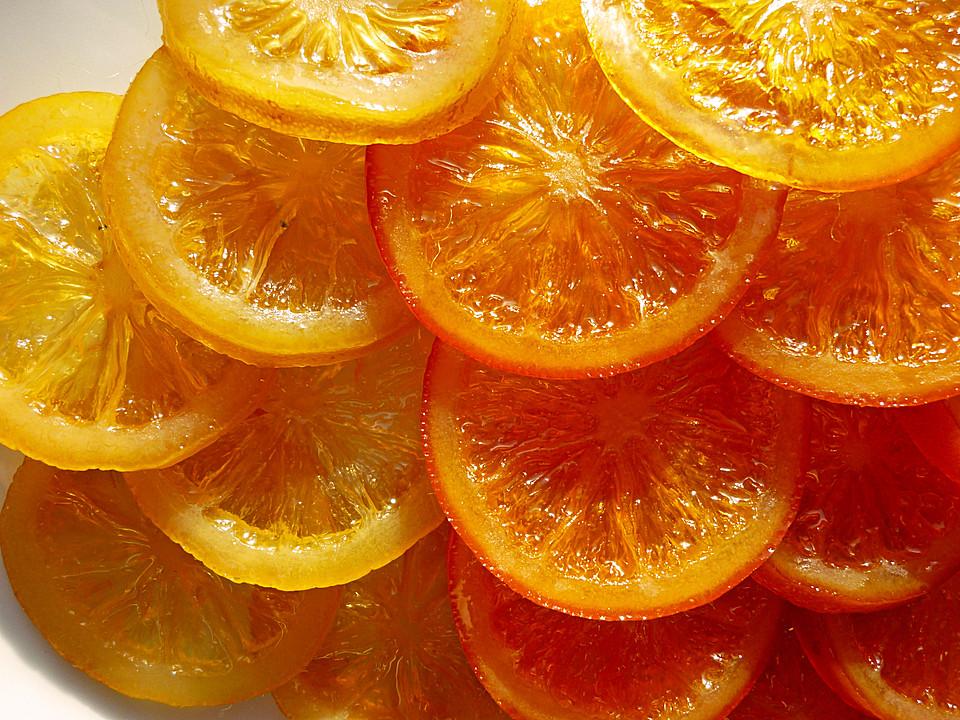 Zitronenscheiben Kandieren