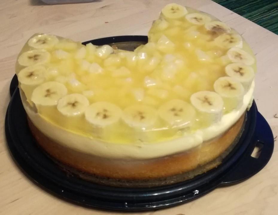 glutenfreier erdbeer bananen kuchen von kochfee46. Black Bedroom Furniture Sets. Home Design Ideas