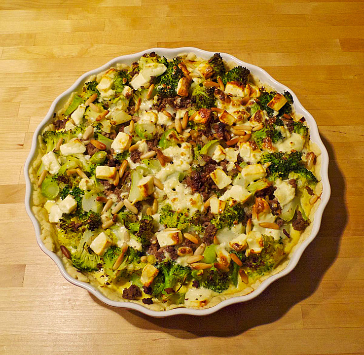 brokkoli hackfleisch quiche rezept mit bild von novastar