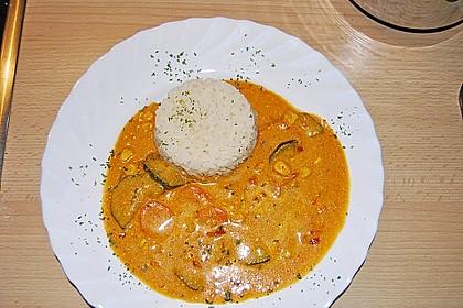 Destis Gemüsecurry mit Nudeln 1