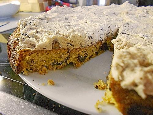 Amerikanischer cookie kuchen mit cookie teig creme rezept - Amerikanische ka chen ...