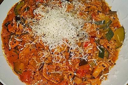 Hackfleischpfanne mit Tomaten und Gemüse 2