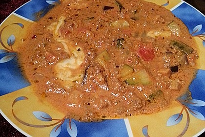 Hackfleischpfanne mit Tomaten und Gemüse 40