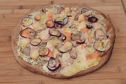 Lachs - Pizza 1