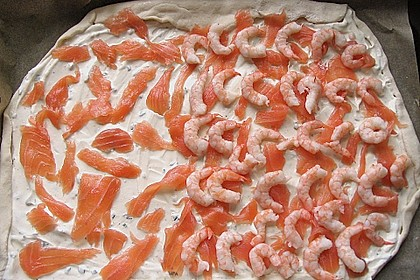 Lachs - Pizza 8