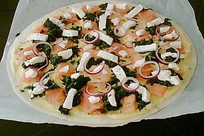 Lachs - Pizza 4