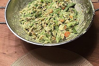 Lachs mit Tagliatelle und Gemüse aus dem Wok 2