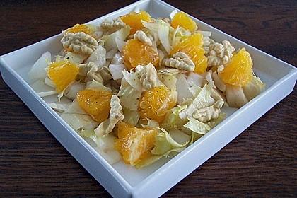 Chicoree - Salat mit Orangen