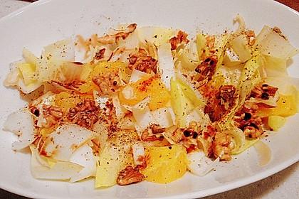 Chicoree - Salat mit Orangen 24