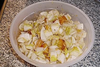 Chicoree - Salat mit Orangen 23