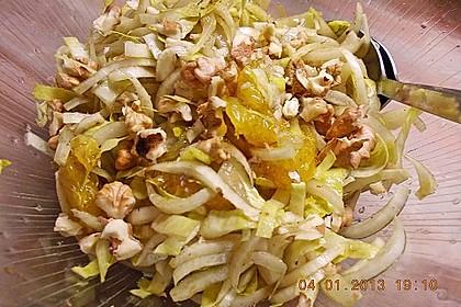 Chicoree - Salat mit Orangen 14