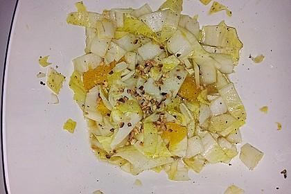 Chicoree - Salat mit Orangen 20