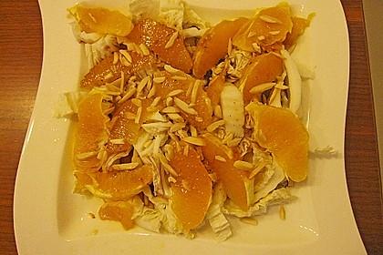Chicoree - Salat mit Orangen 22