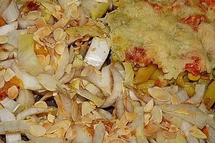 Chicoree - Salat mit Orangen 11
