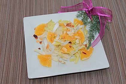 Chicoree - Salat mit Orangen 27