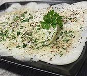 Kohlrabi - Carpaccio