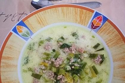 Käse - Lauch Suppe von Tofu | Chefkoch.de