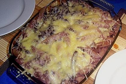 Rotkohl - Pasta Auflauf 4
