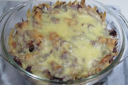 Rotkohl - Pasta Auflauf 1