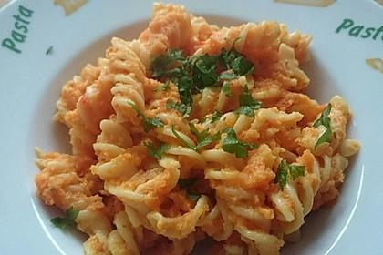 Möhren - Paprika - Sauce für Nudeln (Bild)