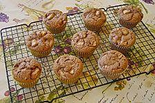 Birnen - Nougat Muffins