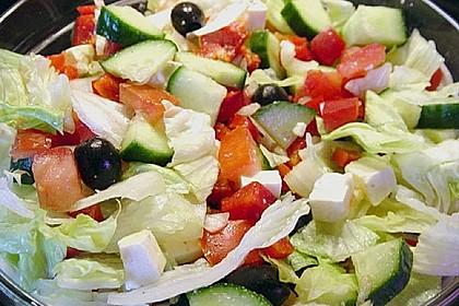 Griechischer Hirtensalat 12