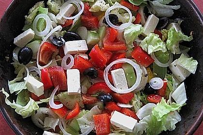 Griechischer Hirtensalat 2