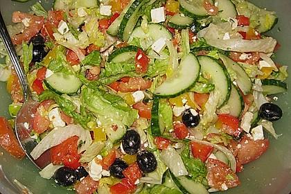 Griechischer Hirtensalat 8