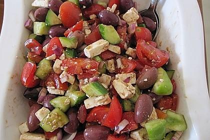 Griechischer Hirtensalat 11