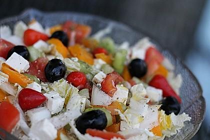 Griechischer Hirtensalat 4