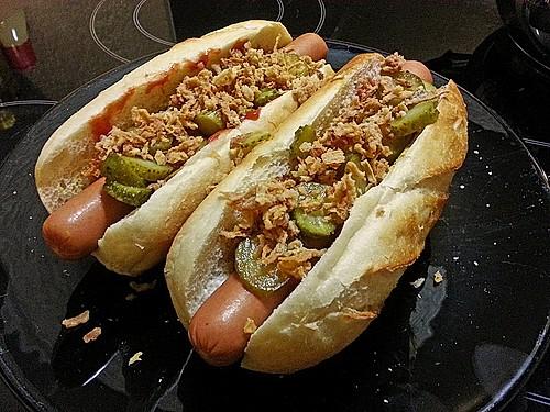 hot dog rezept mit bild von kirchenweb. Black Bedroom Furniture Sets. Home Design Ideas
