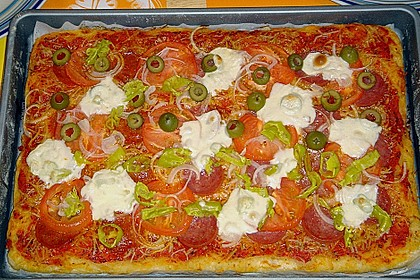 Bester Pizzateig 1